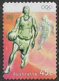 Australia SG2017 2000 Olympic Games, Sydney (2nd issue) 45c good/fine used